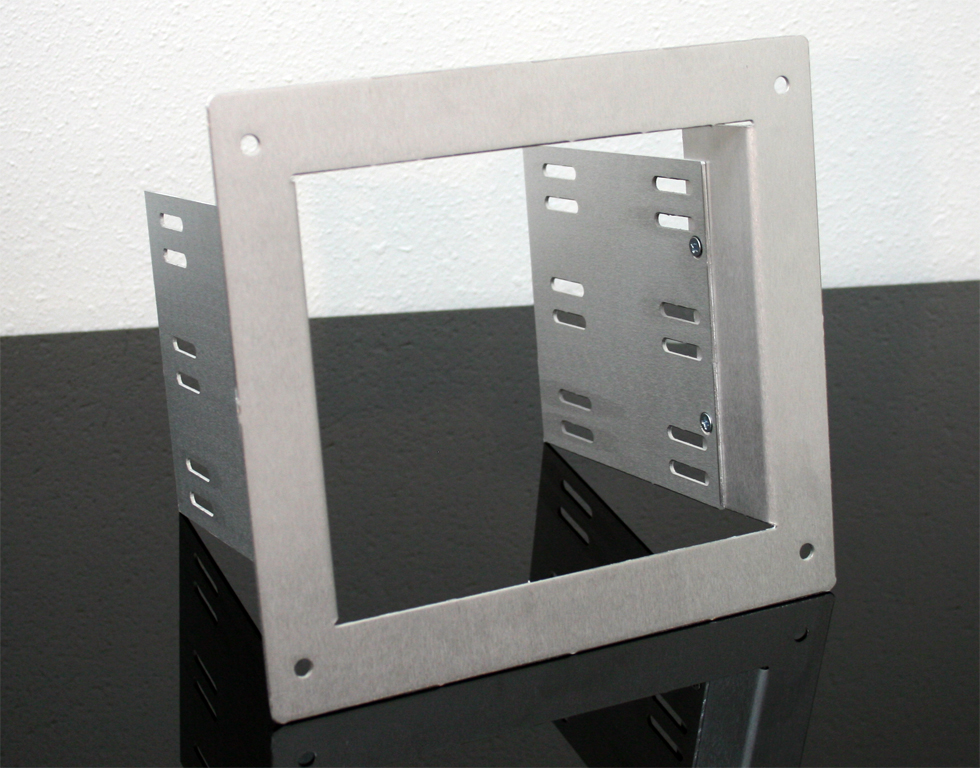 3 x 5.25 optical drive cage